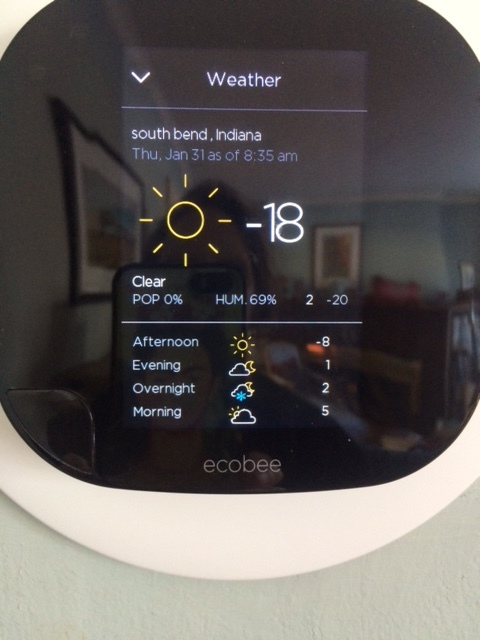 The truth according to Ecobee.
