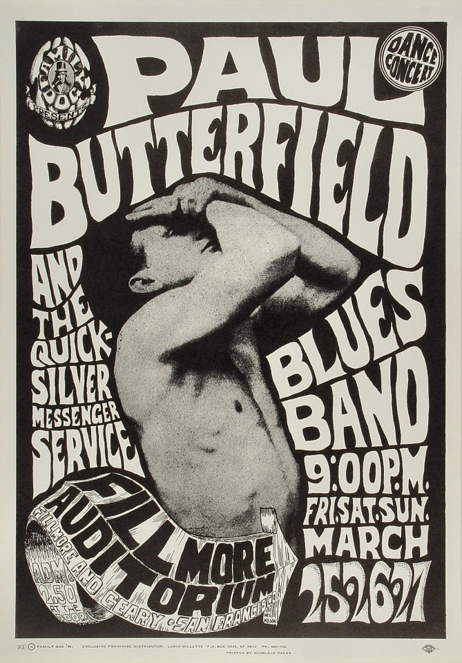 A Wes Wilson poster advertising the band in 1967.