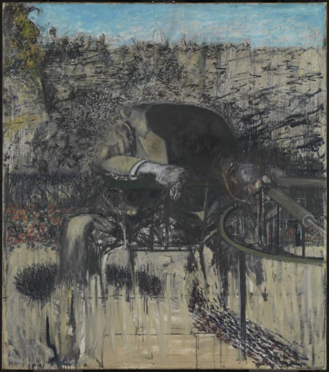 Figure in a Landscape , Francis Bacon (1945)