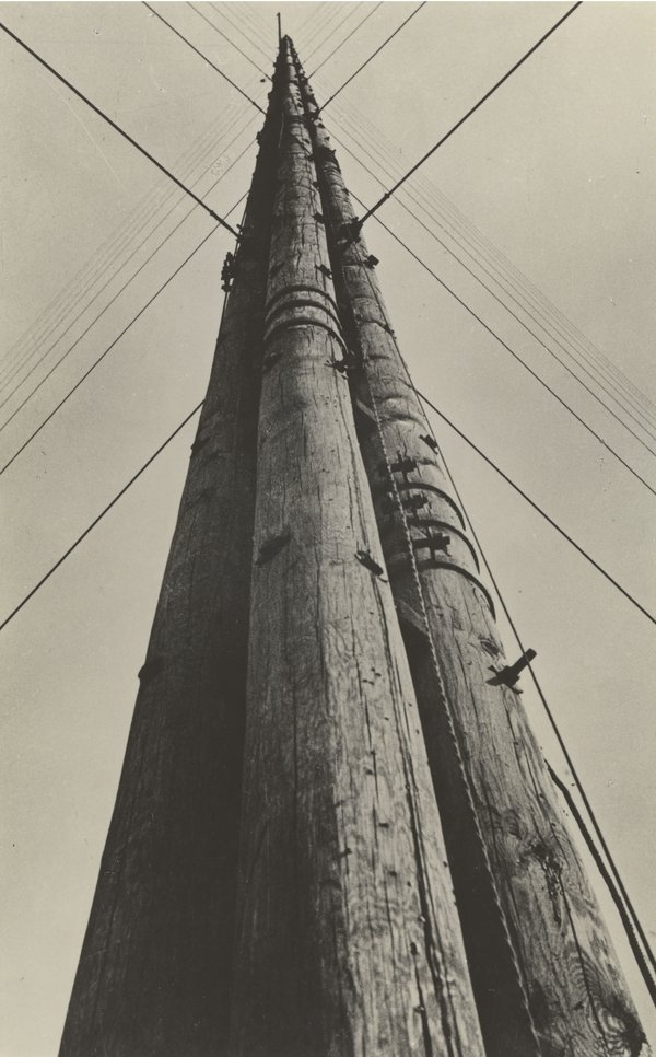 Aleksandr Rodchekndo,  Radio Station Power , 1929, Lent by Jack Kirkland Collection, Nottingham © Rodchenko & V Stepanova Archive.