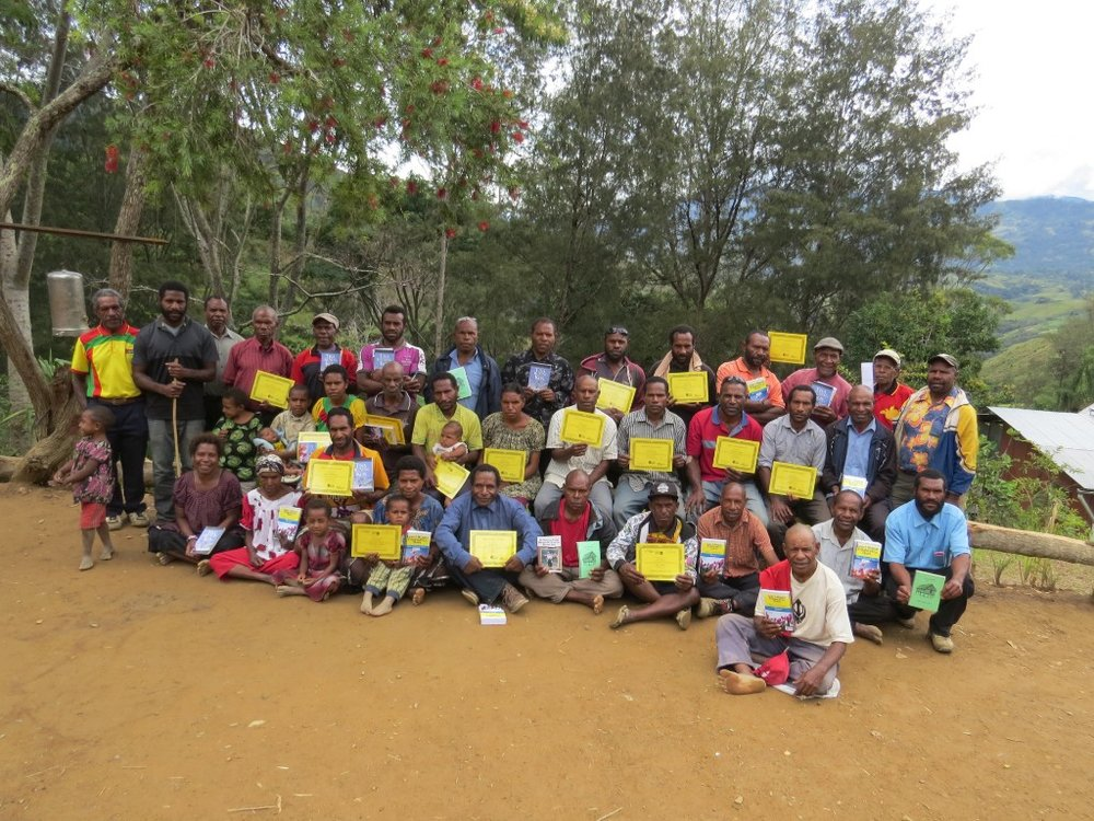 Teachers' Training Workshop in Papua New Guinea
