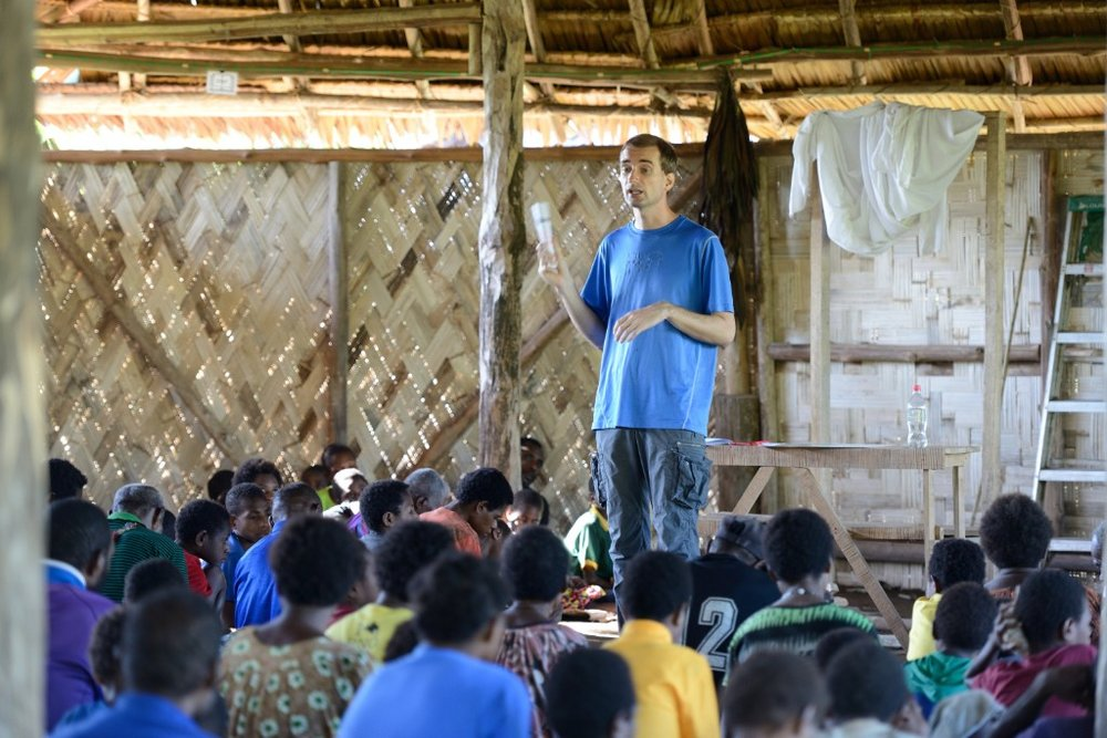 Chronological Bible Teaching in Papua New Guinea...