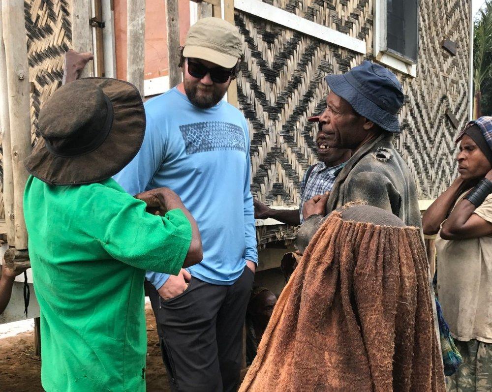 Jack Building Relationships in the Village