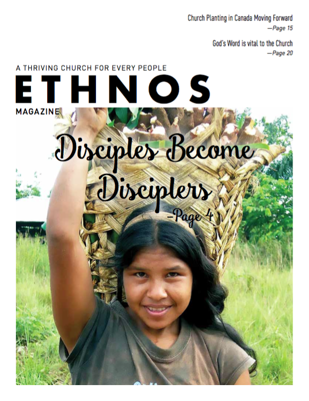 Disciples Become Disciplers - March 2018