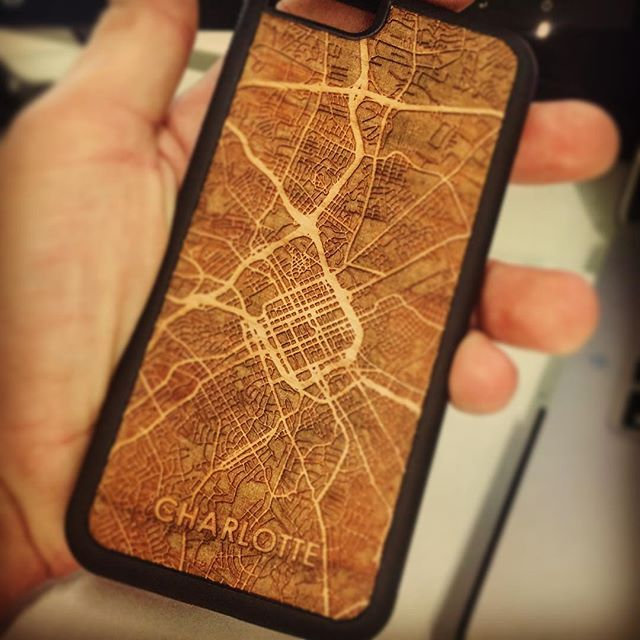 New iPhone case has arrived. Can't wait to get back to the #704 #Charlotte #QueenCity