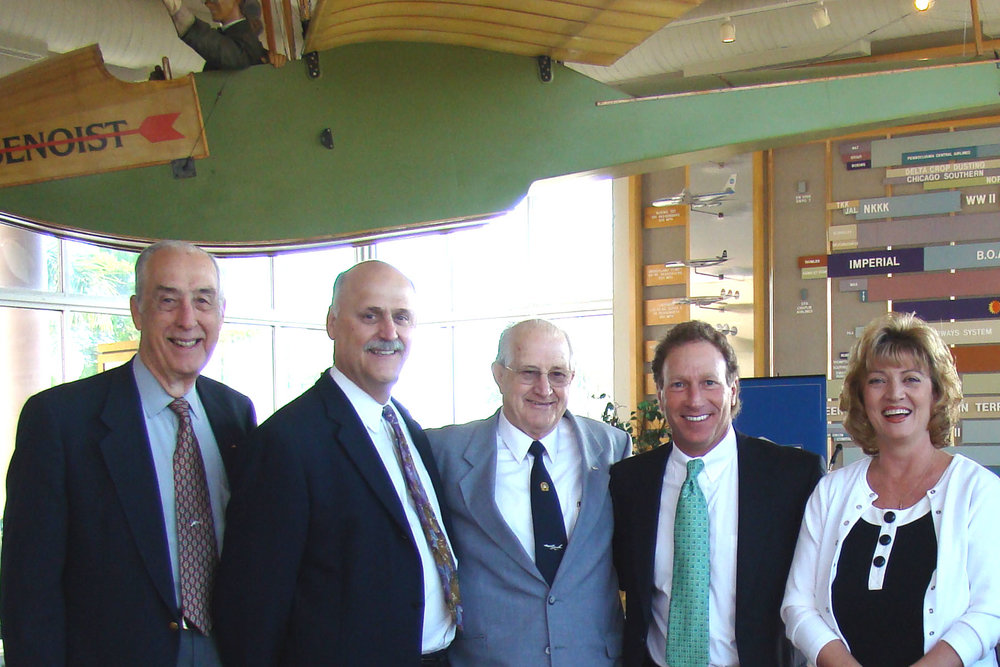 Dick Newton, Rich Lisser, Joe Bullers, Dave Hilfman, & Colleen Picard @ SPMOH, 27 Mar '08.jpg