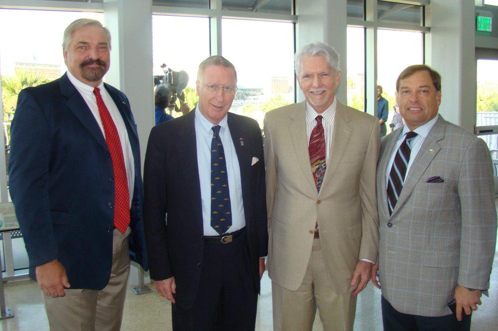 John Dahl, Colin Howgill, Cedar Hames & Tanker Snyder, 13 Apr '11 .JPG