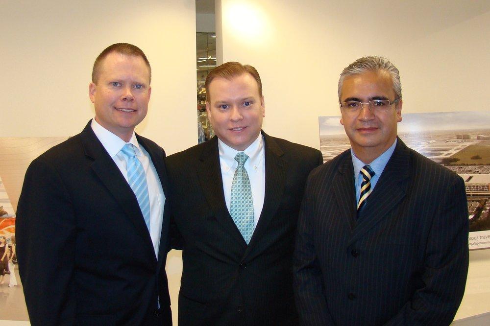 Chris Minner, Fernando Fondevila & Ricardo Pedroza at Press Conference - 1, 21 May '14.JPG