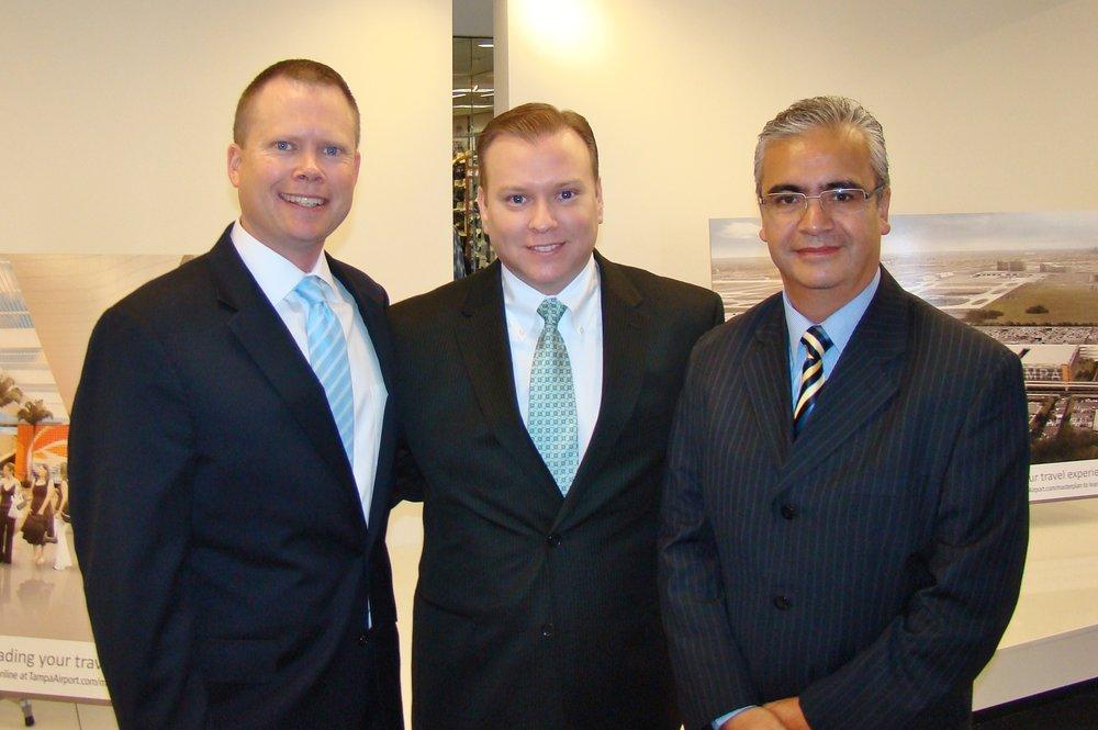 Chris Minner, Fernando Fondevila, & Ricardo Pedroza, at press Conference - 2, 21 May '14.JPG