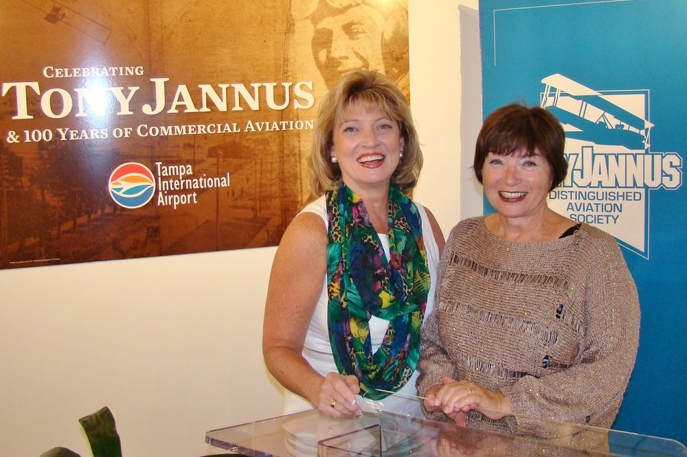 Colleen Picard & Anne Menke at Press Conference - 2, 21 May '14.JPG