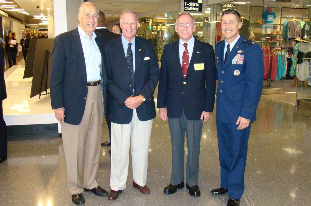 Dick Newton, Colin Howgill, David McLay & Scott DeThomas at Press Conference - 2, 21 May '14.JPG