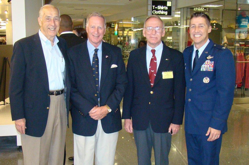 Dick Newton, Colin Howgill, David McLay & Scott DeThomas at Press Conference -1, 21 May '14.JPG