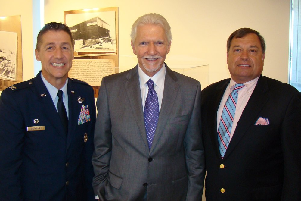 Scott DeThomas, Cedar Hames & Tanker Snyder at Press Conference, 21 May '14.JPG