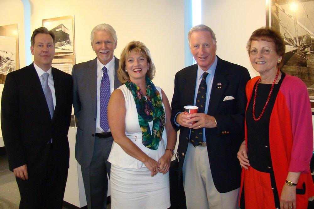 TJDAS Board Members at Press Conference - 1, 21 May '14.JPG