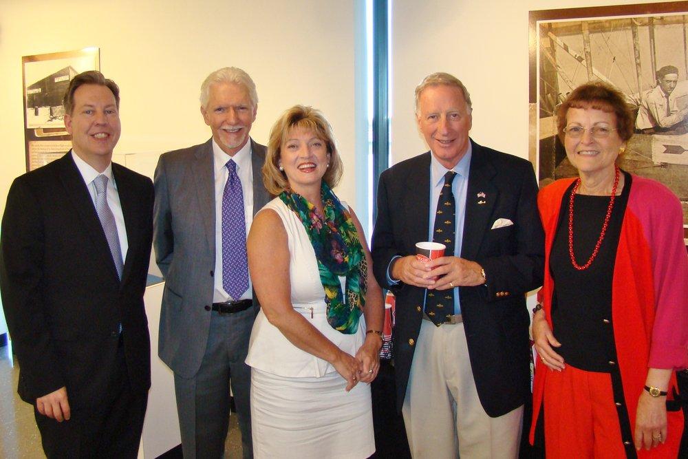 TJDAS Board Members at Press Conference - 2, 21 May '14.JPG