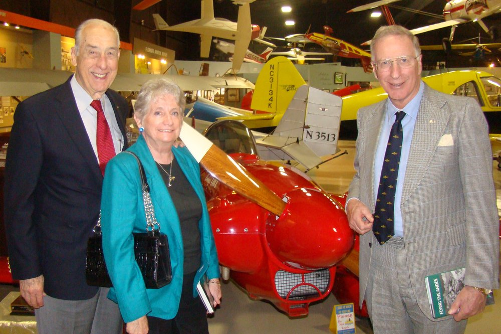 Dick Newton and Colin & Pam Howgill, 28 Jan '12.JPG