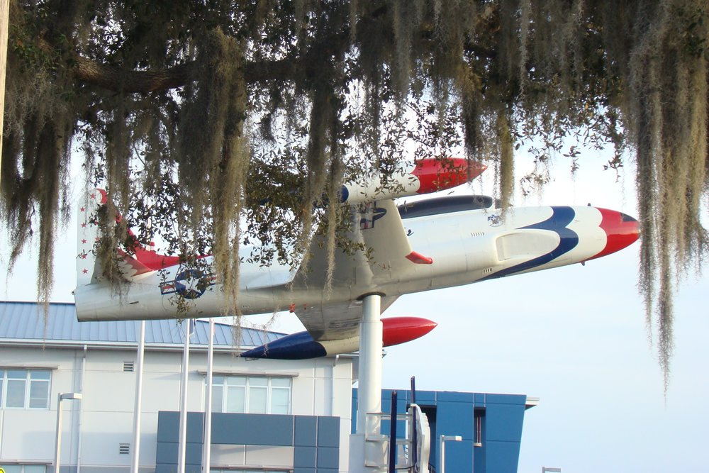 Florida Air Museum T-33 - 1, 28 Jan '12.JPG