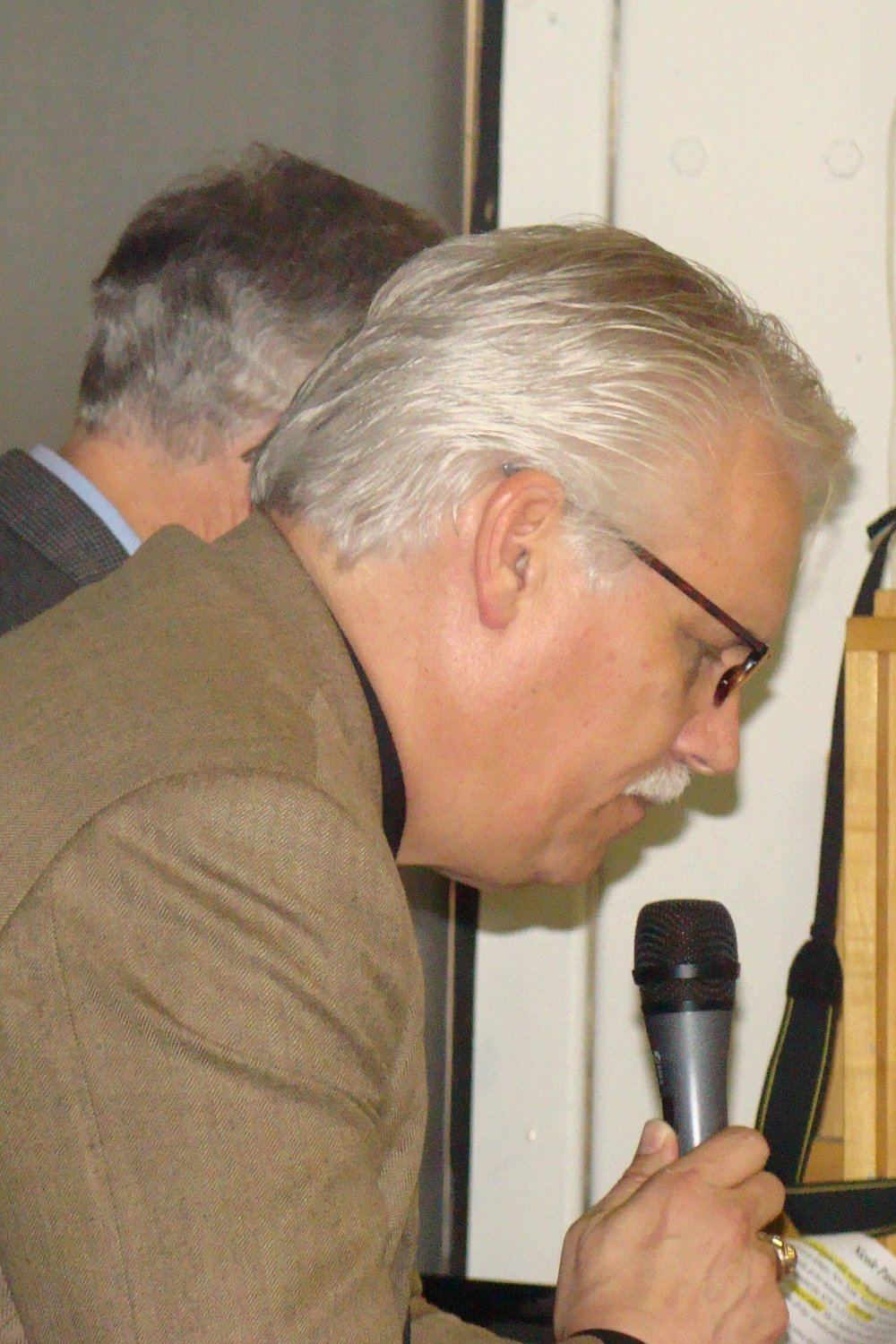 John Burton Narrating Introductions, 28 Jan '12.JPG
