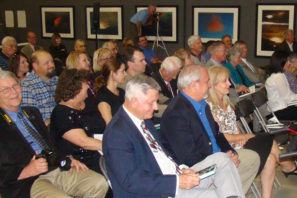 Part of Audience at FAHOF Induction Ceremony, 28 Jan '12.JPG