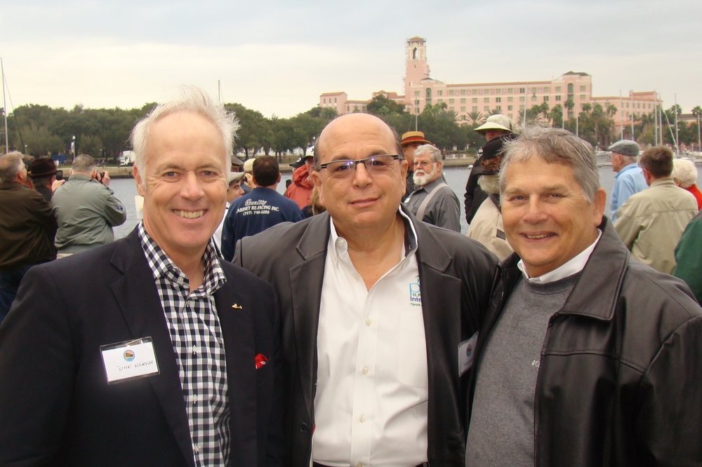 Dick Newton, Noah Lagos & Commissioner Bill Dudley, 1 Jan '14.JPG