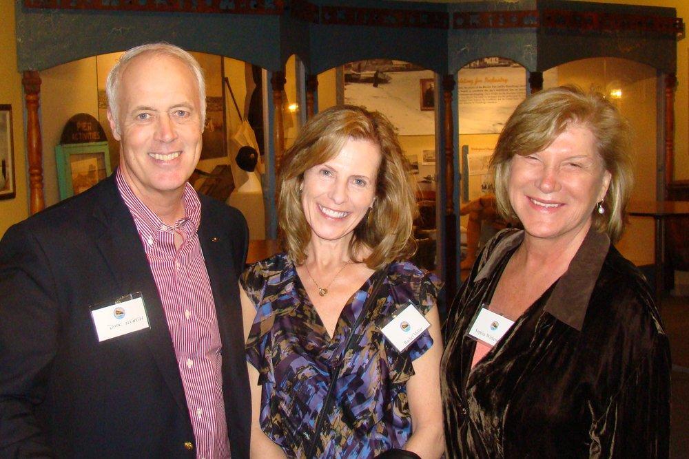 Dick Newton, Rachael Miller & Dr. Sophia T. Wisniewska, 31 Dec '13.JPG