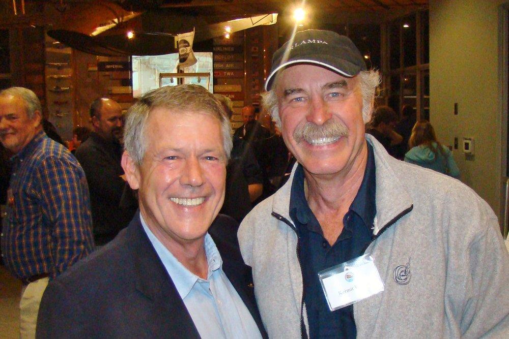 Frank Robertson & Kermit Weeks, 31 Dec '13.JPG