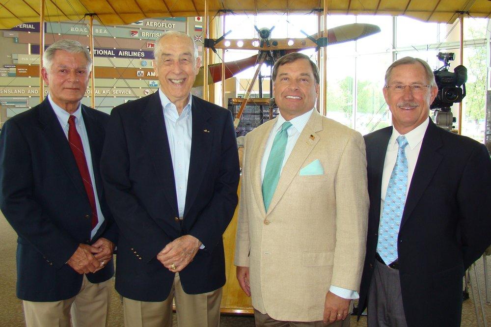 Bob Knight, DIck Newton, Tanker Snyder & John 'Lites' Leenhouts - 1, 14 Jun '12.JPG