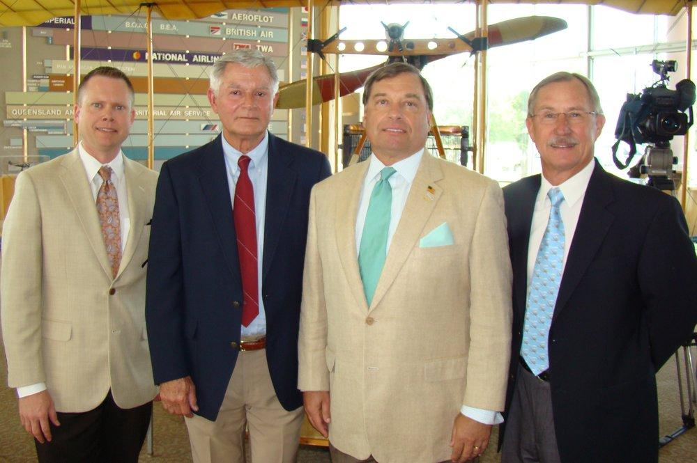 Chris Minner, Bob Knight, Tanker Snyder & John 'Lites' Leenhouts - 1, 14 Jun '12.JPG