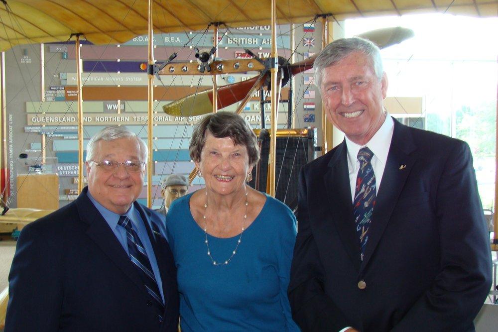 Dr. William Heller, Connie Kone & Will Michaels, 14 Jun '12.JPG