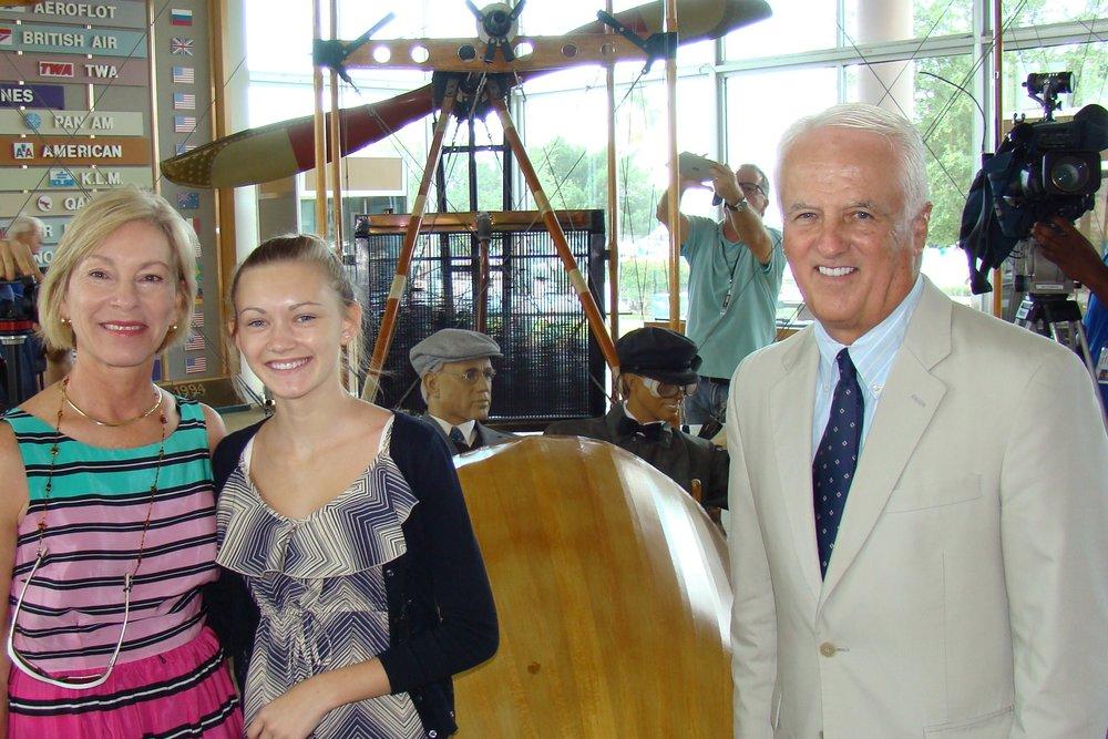 John & Rosie O'Connor with Rachael - 1, 14 Jun '12.JPG