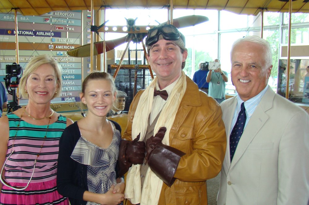 John & Rosie O'Connor with Rachael and Tony Jannus, 14 Jun '12.JPG