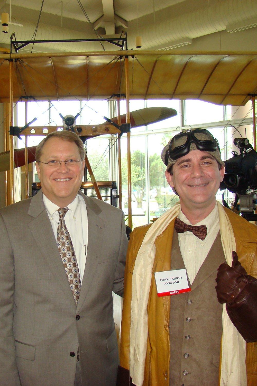 Mayor Bill Foster & Tony Jannus, 14 Jun '12.JPG
