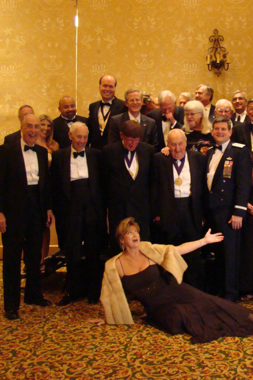 Colleen's Grand Entrance, Award Banquet, 30 Oct '08.jpg