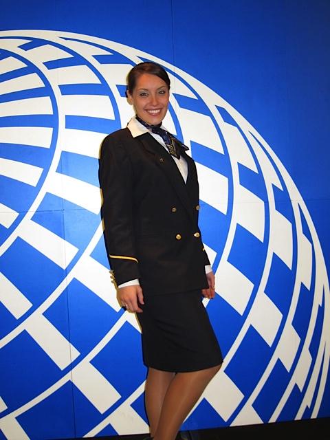 Kelly Dahl at Graduation from United Airline Flight Attendant Training - 1, 8 Mar '12.jpg