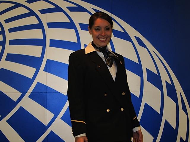 Kelly Dahl at Graduation from United Airline Flight Attendant Training - 2, 8 Mar '12.jpg