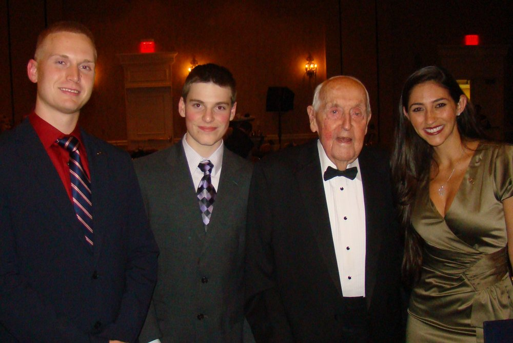 Charles Boynton, Andrew Smith, Sir Lenox Hewitt & Diana Cobas- 1, 15 Nov '13.JPG