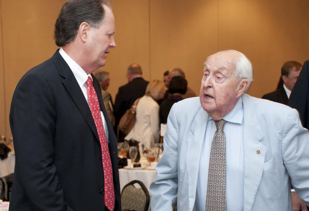 Jaan Albrecht & Sir Lenox Hewitt @ Luncheon, 29 Oct '10.jpg