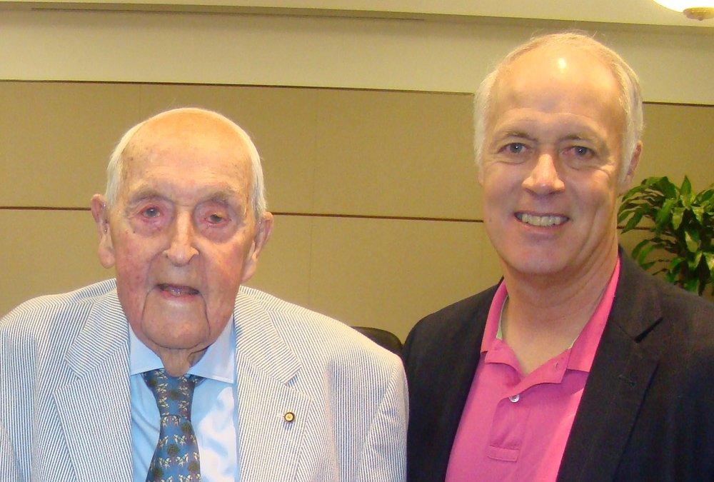 Sir Lenox Hewitt & Lt. Gen Richard Y. Newton, III, USAF (Ret), 15 Nov '13 .JPG