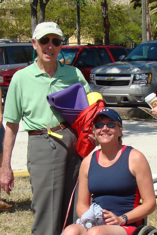 Bill Krusen & Beijing Olympic Bronze Medalist, 14 Mar '09.jpg