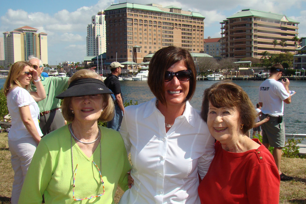 Dottie Krusen, Linda Biller & Ruth Newton, 14 Mar '09.jpg