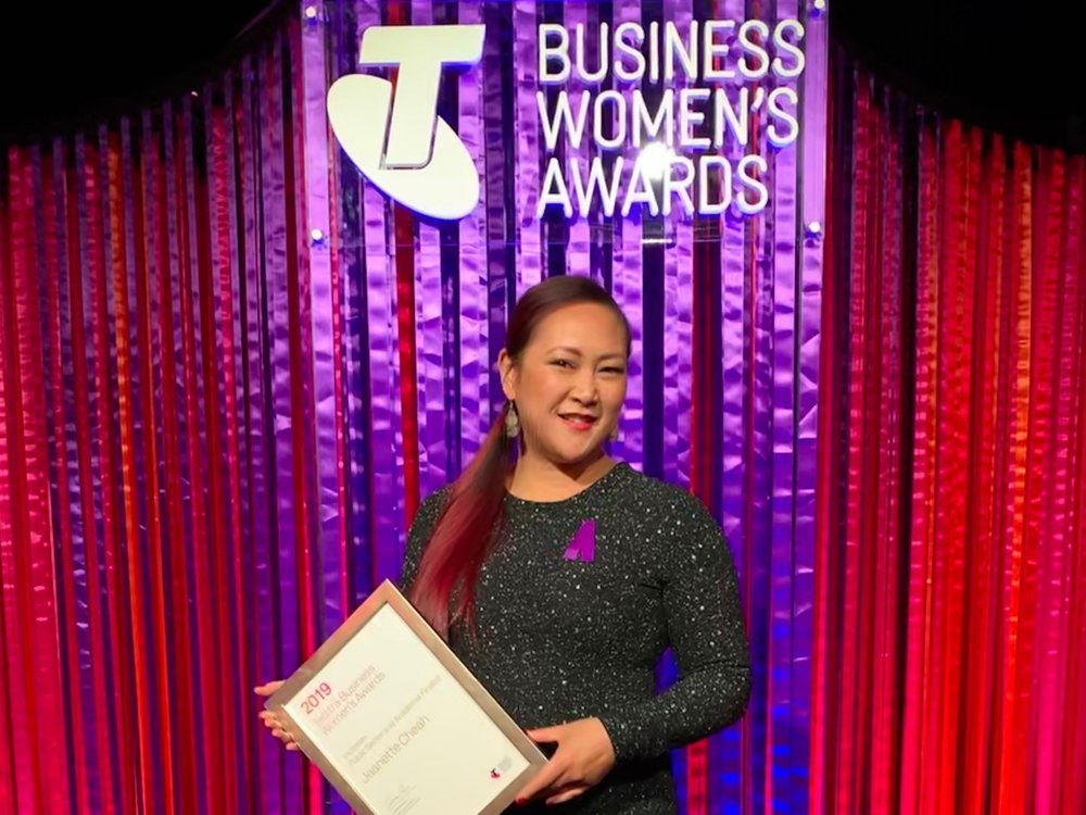 2019 Finalist, Telstra Business Women's Awards 'Public Sector & Academia'.