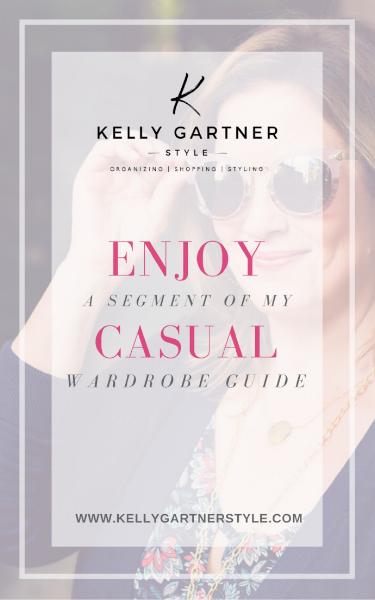 free casual wardrobe guide