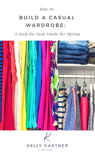 how to build a casual wardrobe spring guide