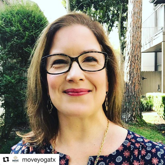 """I'm excited to join the teaching staff at #moveyogatx when the studio opens in July! #Repost @moveyogatx with @repostapp ・・・ I began practicing yoga in 2017 at the suggestion of a friend. I had never exercised regularly and had only taken one yoga class before I started, and I thought the physical challenge would be good for me. Though my first couple of weeks were hard (and sweaty!) I grew to love not only the asana but also the breath work, meditation, and introspection I experienced in my classes. For the first time, I heard someone say, """"You are whole, complete, and perfect just the way you are, and there is absolutely nothing you have to do to fix yourself."""" I learned how to get out of my head and into my body, focusing on one breath, one pose, and one place at a time instead of thinking ahead and analyzing every move. I discovered that I am not my thoughts, feelings are fleeting, and that I could hold my opinions lightly. Practicing yoga became as important as eating healthy foods and drinking plenty of water in my daily routine. As a former elementary school teacher, I wished I had known about yoga when I was teaching. I knew that my students would have benefited from movement, breath work, stillness, and meditation, and in April 2018, I jumped at the opportunity to become certified as a kids yoga teacher. Using songs, games, and children's literature, my mission is to teach kids how to cultivate body awareness, emotional intelligence, and spiritual well-being so they can be the best version of themselves and contribute positively to their families, communities, and the world. Peace and love, Kelly #movebreatheinspire #moveyogatx #kidsyoga #kidsyogateacher #houstonyoga #houstonyogateachers #kidsMOVE #community #kellygartneryoga"""