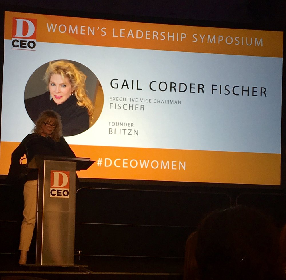 Gail Corder Fischer, Founder of Blitzn