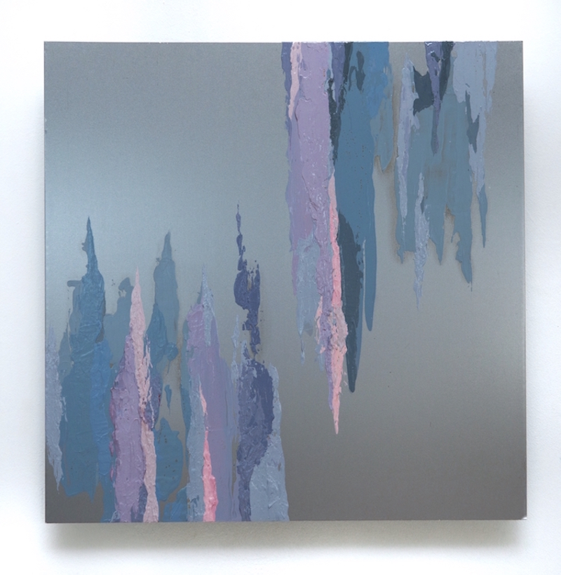Fluidity #8 - Sofia Echa12 x 12 inchesAcrylic on aluminum2015