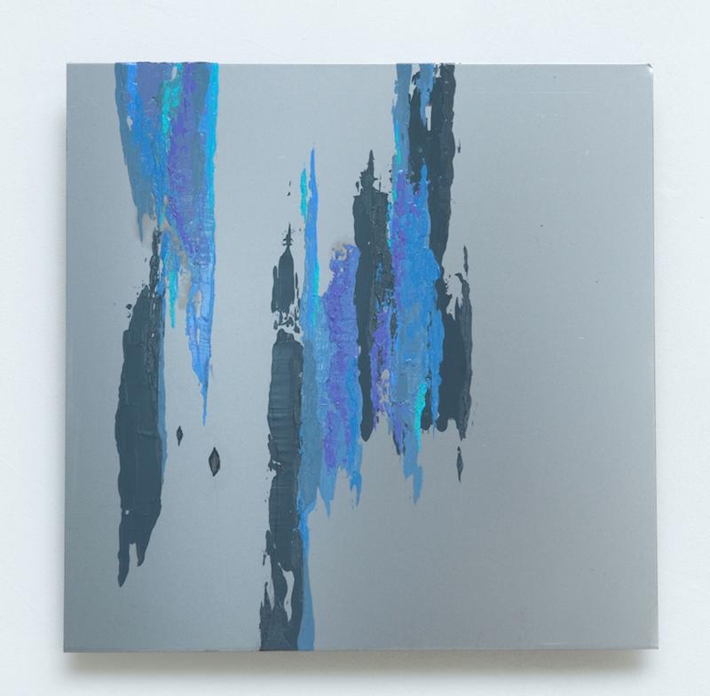 Fluidity #9 - Sofia Echa12 x 12 inchesAcrylic on aluminum2015