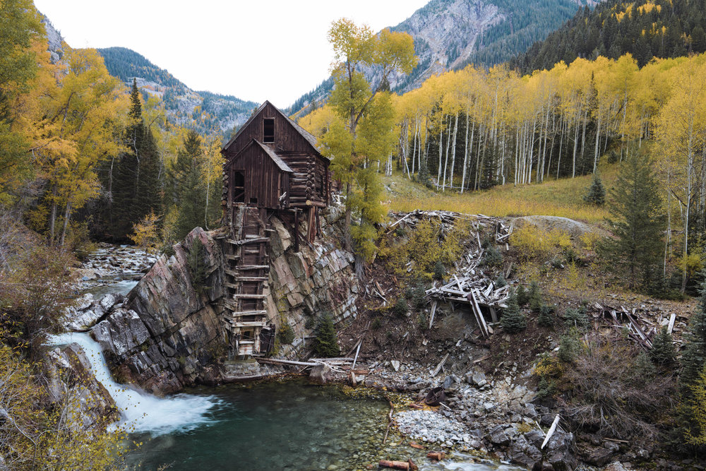 Crystal Mill - Marble, Colorado