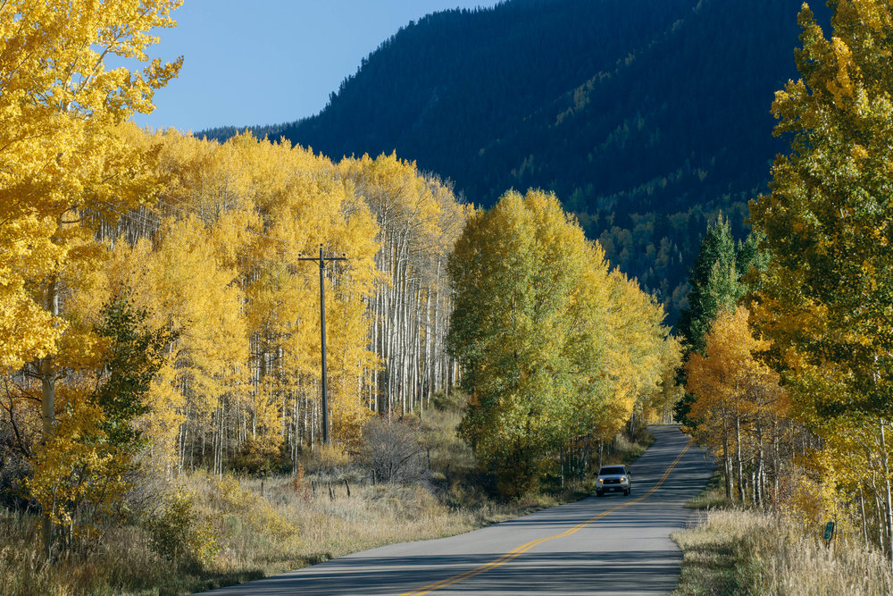 Castle Creek Road, Aspen