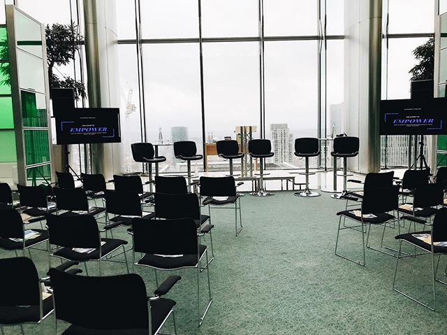 Time to speak at @barclaysuk on their empowerment panel discussion ⚡️